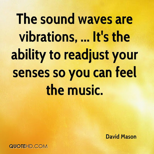 Image result for quote on sound