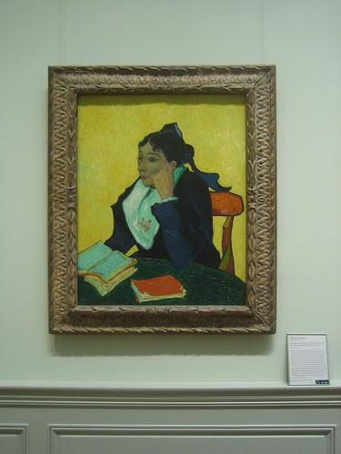 L'Arlésienne Madame Joseph-Michel Ginoux (née Marie Julien, 1848–1911), 1888-89, Vincent van Gogh _8387