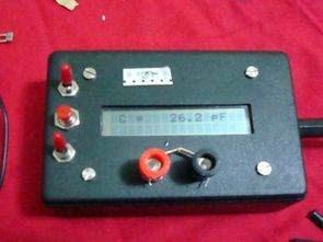 LC Meter với màn hình LCD với PIC16F84