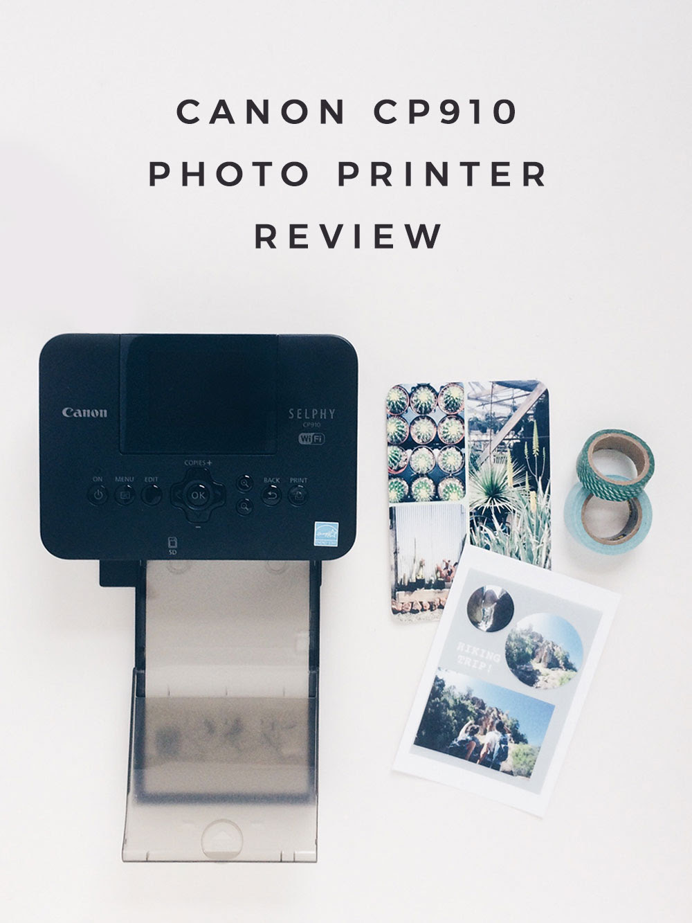 Review Canon Cp910 Selphy Compact Photo Printer Owl Ink
