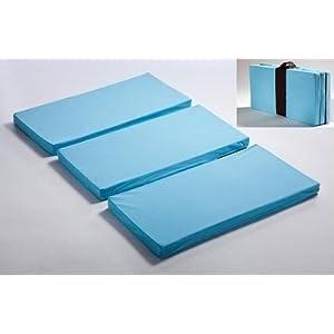 MamaDoo Kids Playard Mattress Topper, Foldable, BLUE -Made ...