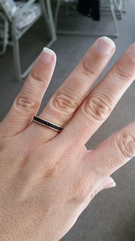 The most popular wedding rings: Pregnancy wedding ring