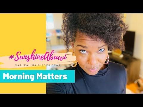 Morning Matters Vlog