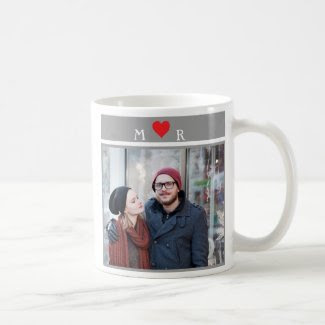 Couples Mug with Heart