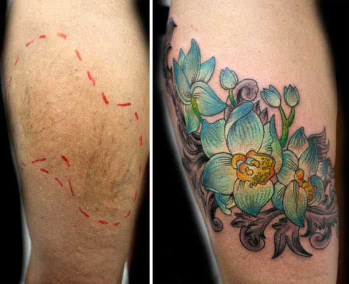Una Mujer Regala Tatuajes Para Cubrir Cicatrices De Violencia De