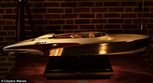 Aeroboat: New £3m superyacht that has the engine of iconic fighter ...