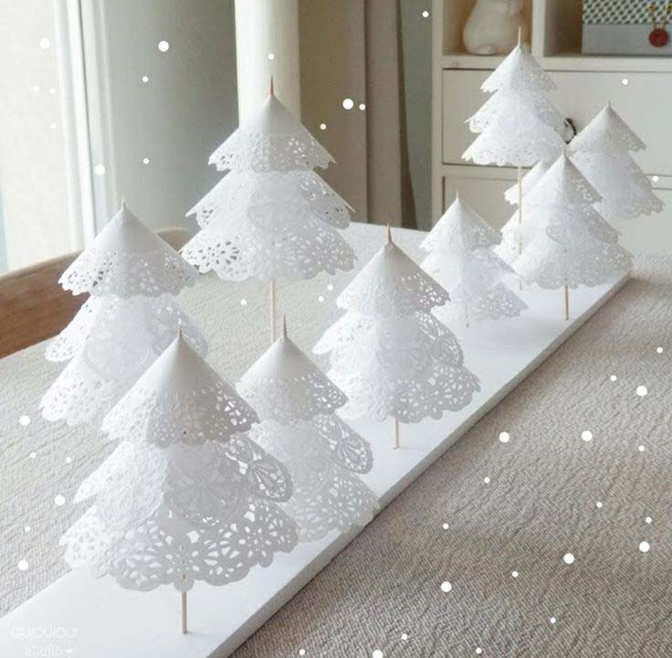 Christmas Decorations To Make Paper