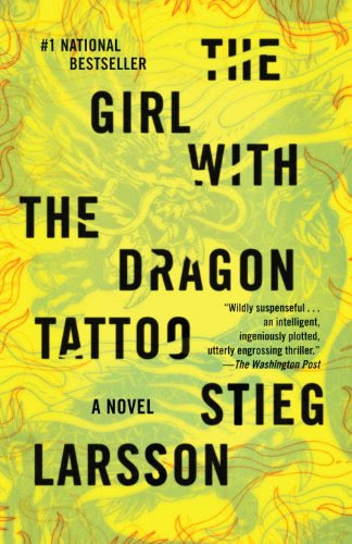 Image result for the girl with the dragon tattoo book cover