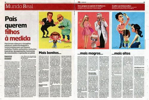 Filhos-à-Medida-Ilustrações-Sol by caricaturas
