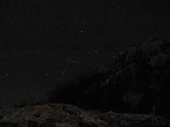 Orion desde las rocas