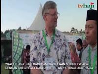 Wawancara TVHaji Dengan Pengamat NU dari Australia Greg Fealy