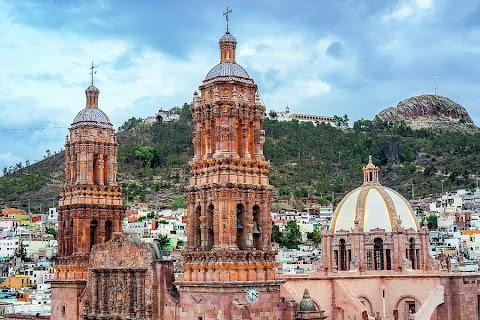 Zacatecas - Zacatecas - Mexico Boutique Hotels / The albarrada mine on the veta grande vein system, and the san bernabe mine and los tajos mine on the mala noche vein system.