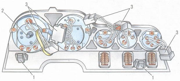 статья про панель приборов ВАЗ 2106 - устройство, особенности конструкции
