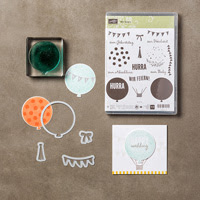 Wir feiern Photopolymer Bundle (German) by Stampin' Up!