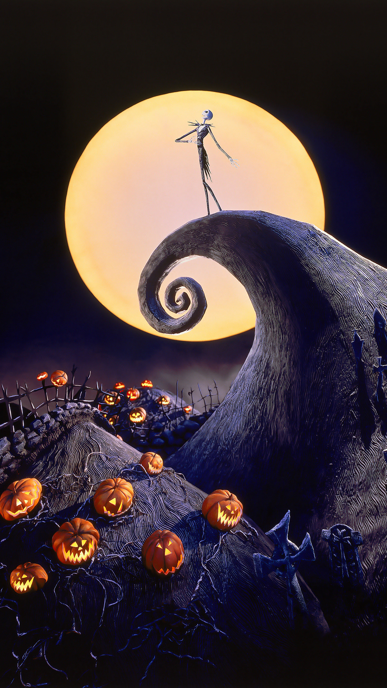 Nightmare Before Christmas Iphone Wallpaper 66 Images