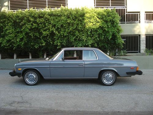 Sell used 1974 MERCEDES BENZ 280 C COUPE 2 DOOR CLASSIC ...