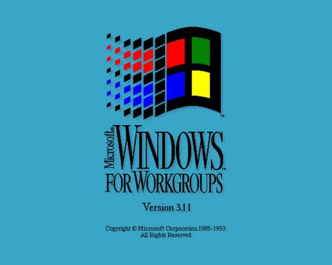 Windows 3.11 for a Workgroups