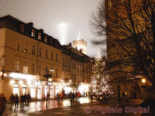 Plaza de la Iglesia de San Nicolás en Berlín