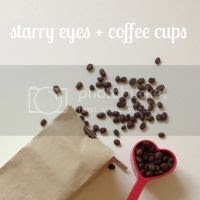 Starry Eyes + Coffee Cups