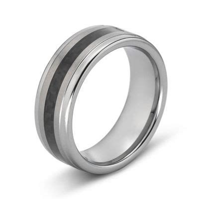 Tungsten Wedding Band, Mens 8mm Comfort Fit   JCPenney