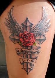 Cross Tattoo Tattoo Love