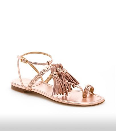 Stuart Weitzman Tasselites Sandals