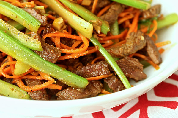 Spicy Dry-Fried Beef