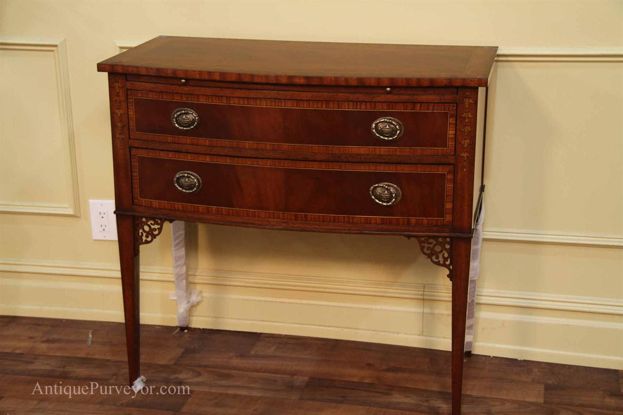 High End Dining Room Buffet, Hepplewhite, Adams Style Server
