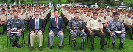 Picture of Prevention Wing of the Military in Ecucador