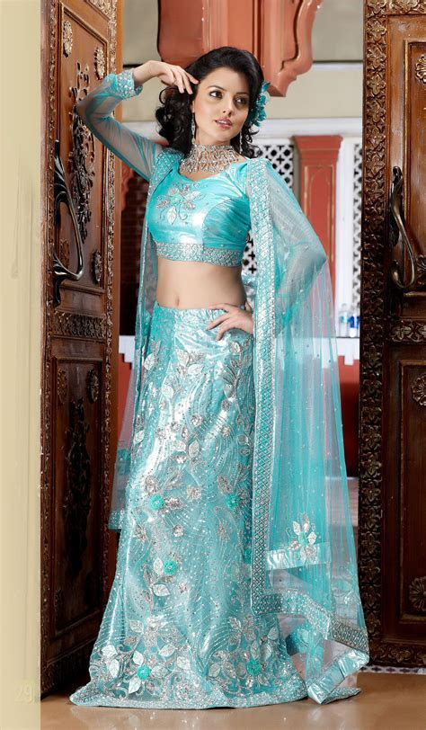 Sky Blue Wedding #Designer #Saree   South Asian Fashion