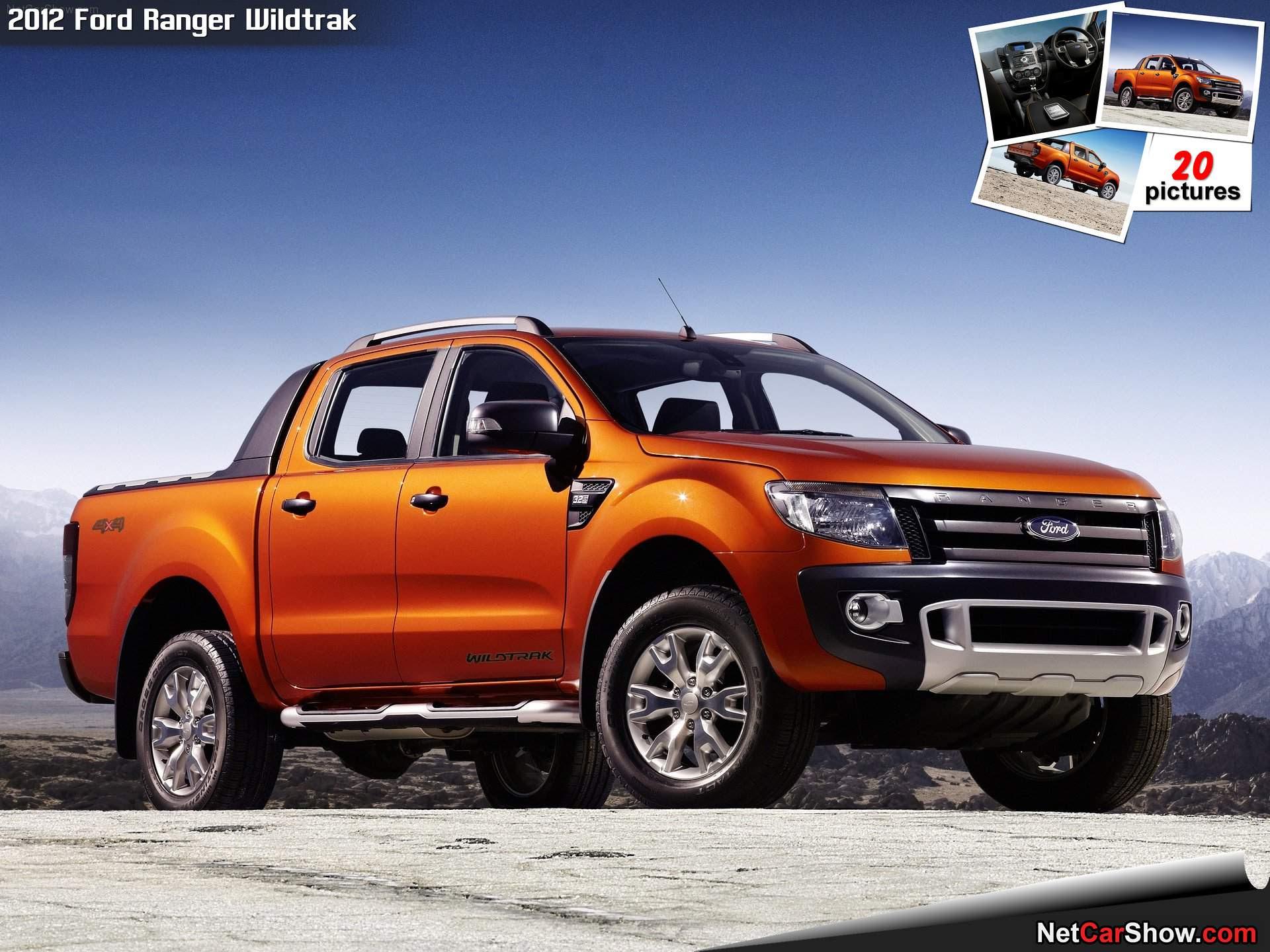 Ford Ranger Wildtrak (2012)