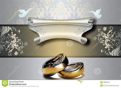 Wedding Invitation Template. Stock Illustration   Image