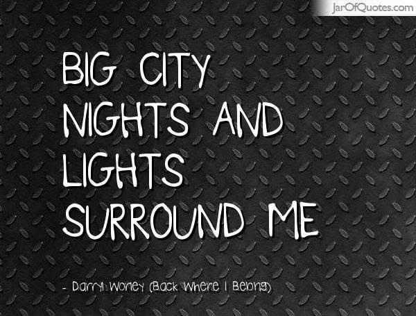 Quotes About City Nights 29 Quotes