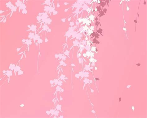 Pink background branches windows 7 hd Wallpaper   High Quality Wallpapers,Wallpaper Desktop,High