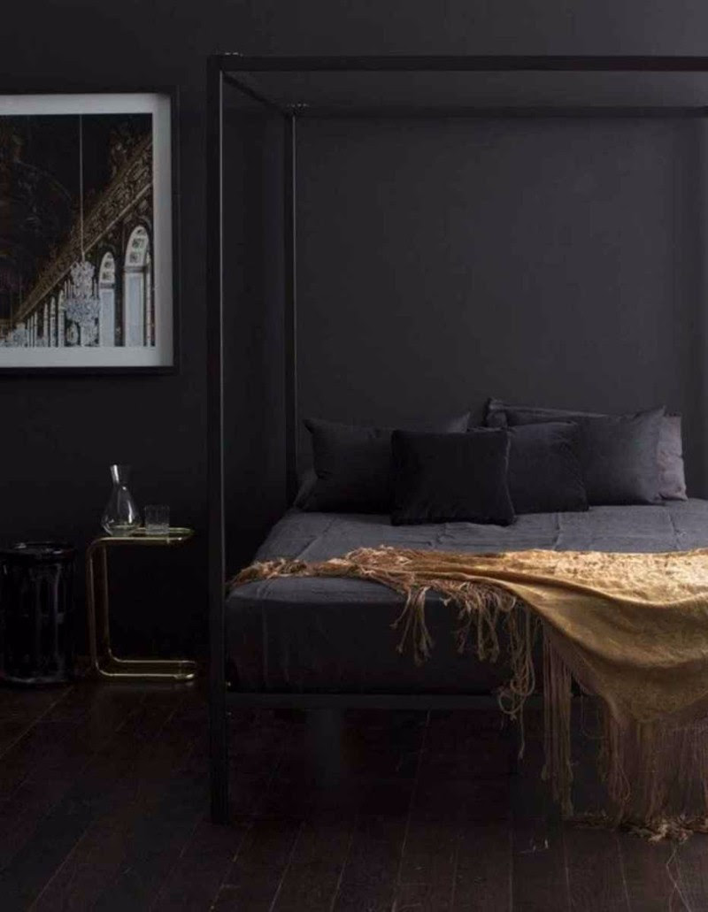 Elegance & Luxury with Dark Bedroom Designs – Master