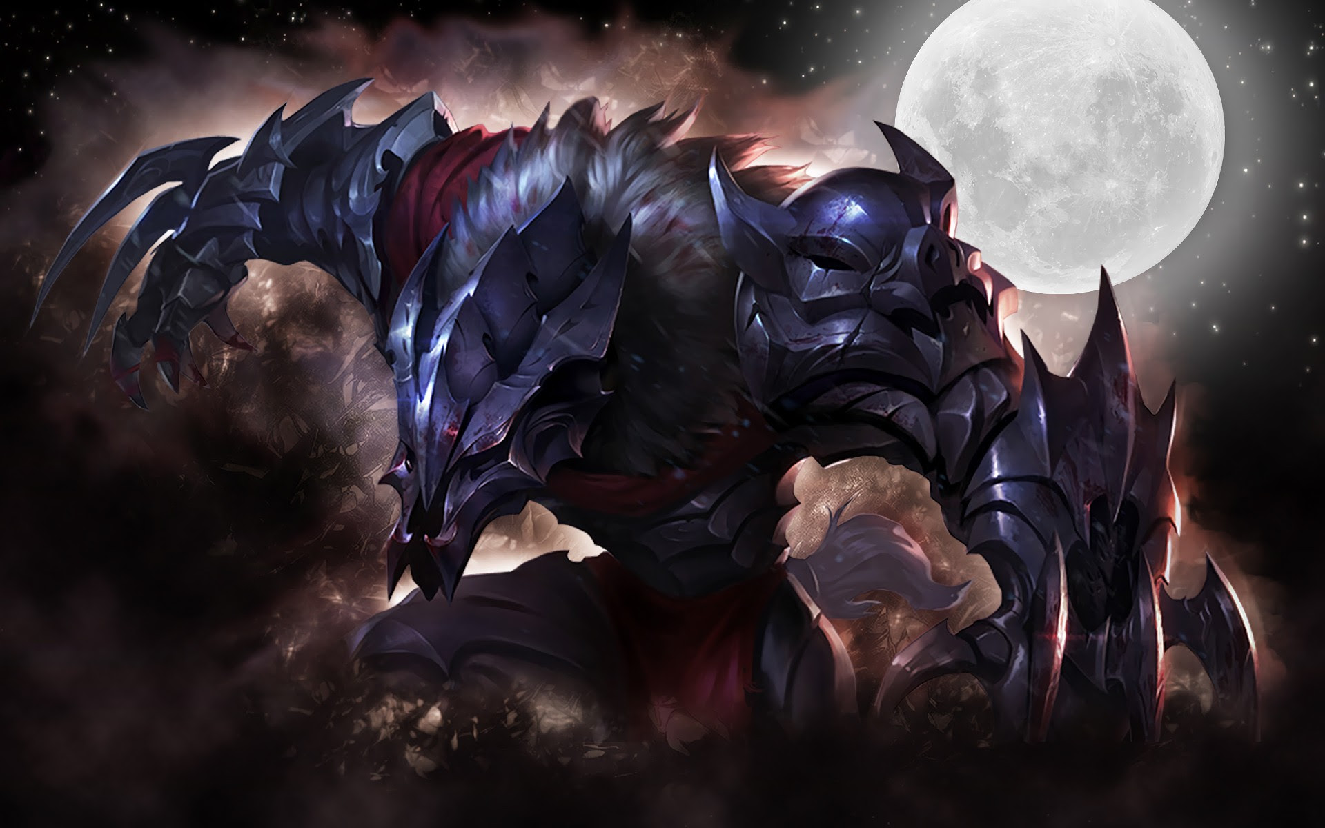 Marauder Warwick Wallpapers Fan Arts League Of Legends Lol