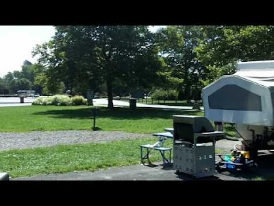 Camping at Cedar Point