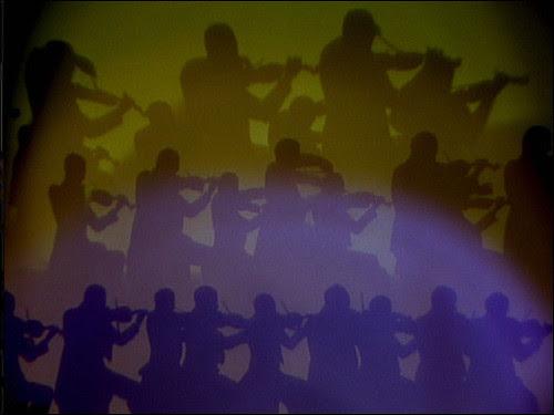 1 musicians as shadows