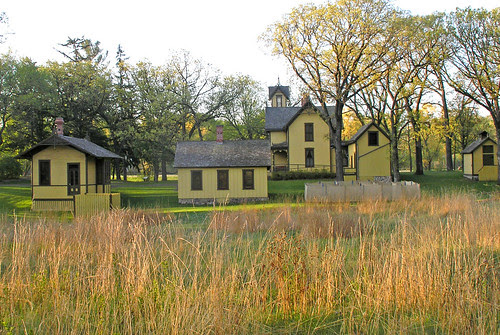 Burwell House-  from the barn side.