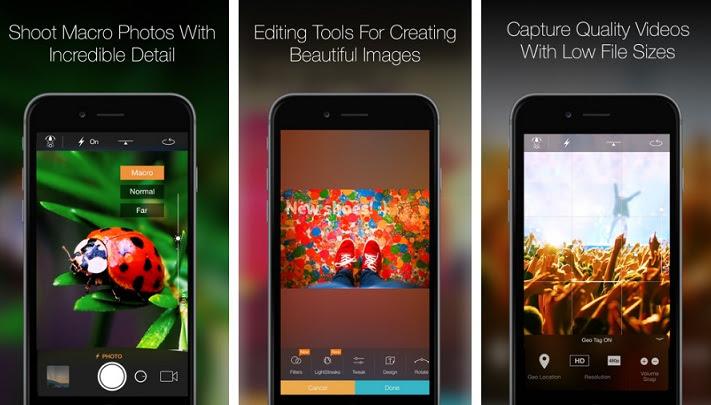 تحميل تطبيق Camera Plus للتصوير الاحترافي للايفون