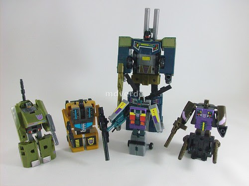 Transformers Combaticons G1 Encore - modo robot