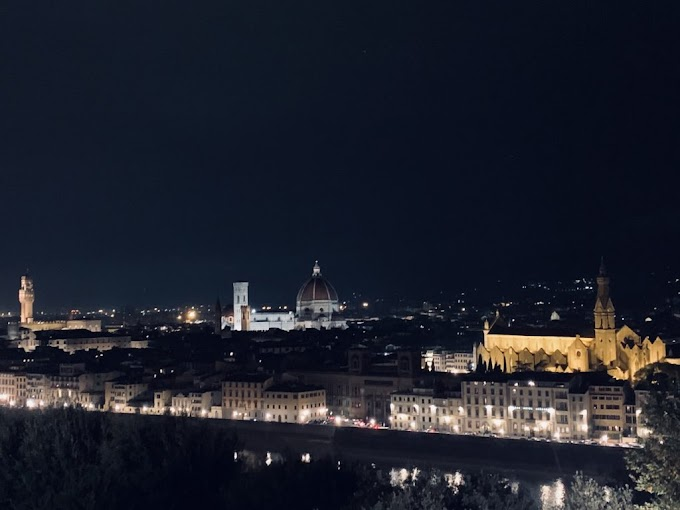 Going to Piazzale Michelangelo, Florence