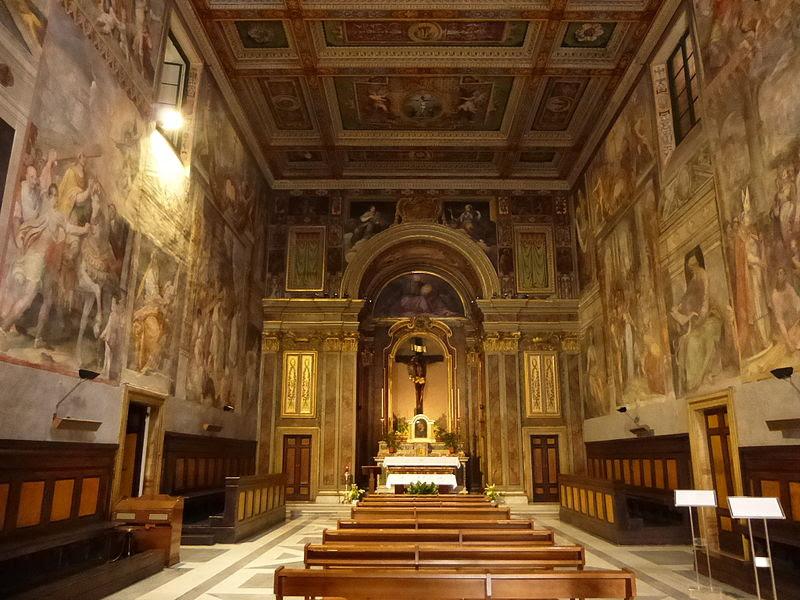 Trevi - Oratorio del Crocifisso interno P1020880.JPG