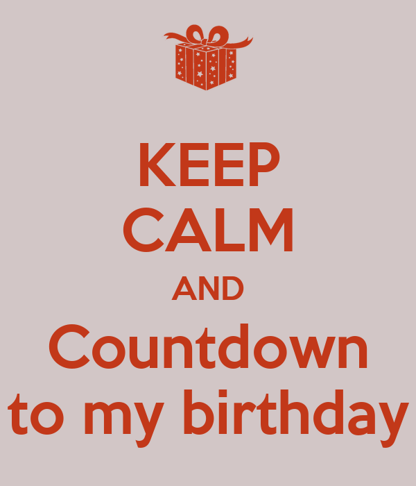 Countdown To My Birthday Quotes Quotesgram Fit Slim