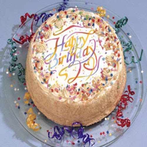 Birthday Cake Delivery On Vanilla 10 Inch Us Only Rs 4065 Send