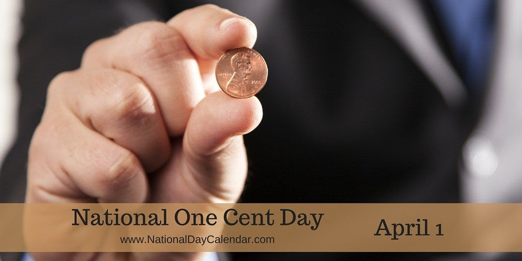 Image result for national one cent day