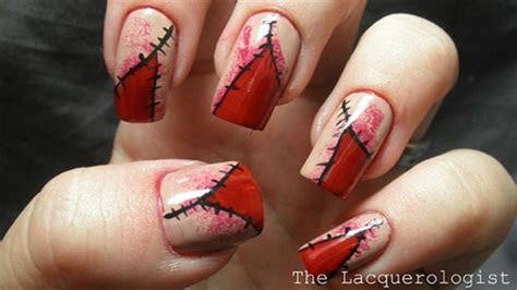 Scary Halloween Nail Art Designs, Ideas & Stickers 2013