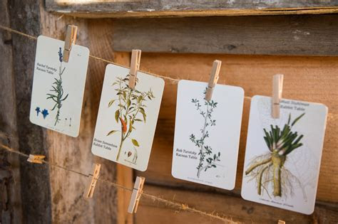11 Creative Rustic Wedding Place Card Ideas   Vermont Weddings