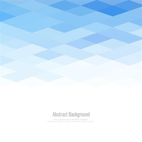 abstract modern polygonal geometric blue background