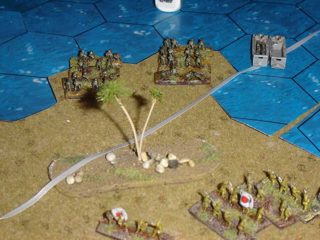 Marines land on  Faila San Hila Point
